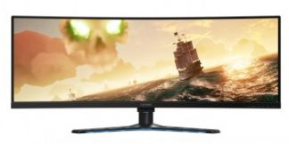 LENOVO LEGION Y44W-10 43.4? ULTRA WIDE (3840X1200)/144HZ/450NITS/4MS HDMI/TYPE-C GEN2/ USB 3.1/ NVIDIA G-SYNC/ (3YEARS WARRANTY)